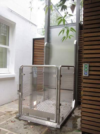 Engelli asans rleri g ney lift kald rma ekipmanlar for Exterior dumbwaiter